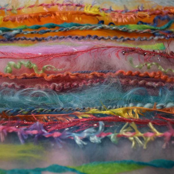 Feutrez un foulard de fantaisie à jolies franges / Fancy Fringe Felted Scarf