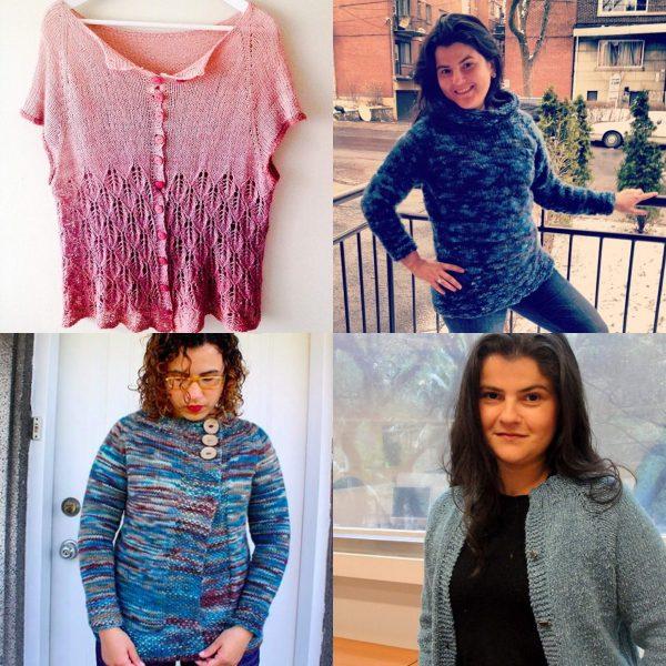 Chandail sans couture tricoté de haut en bas qui vous ira comme un gant! / Top down seamless sweater - the perfect fit!