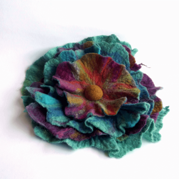 Broches feutrées / Felted Brooches