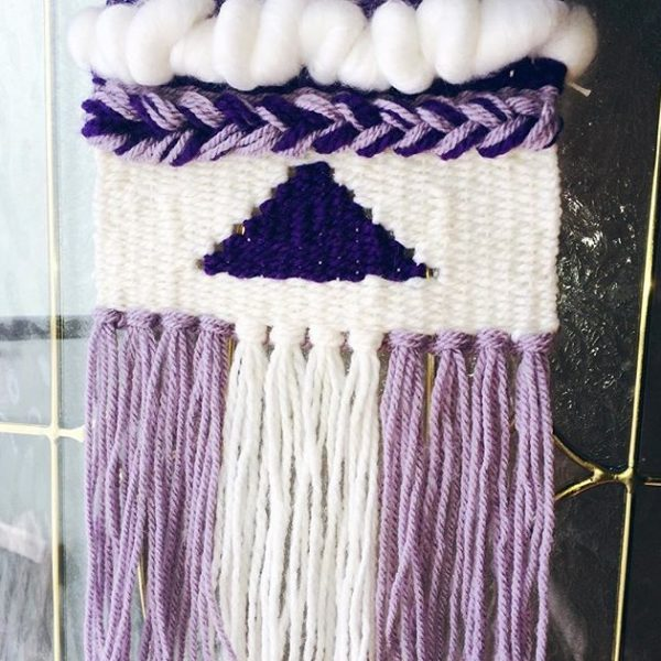 Tissage style tapisserie / Tapestry Weaving